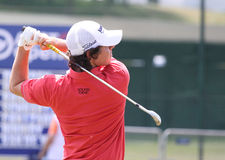 2010法语高尔夫球ilroy橡皮防水布开放rory 免版税图库摄影