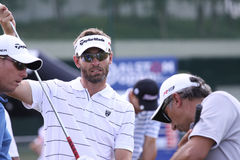 2010法语高尔夫球jacquelin开放raphael 免版税图库摄影
