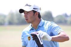 2010法语高尔夫球larrazabal开放帕布鲁棕色 图库摄影