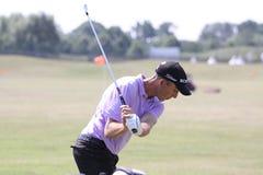 2010法语ogilvy geoff的高尔夫球开张 库存照片