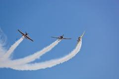 2010航空布加勒斯特显示 免版税库存照片