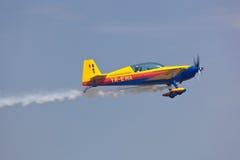 2010航空布加勒斯特显示 免版税库存图片