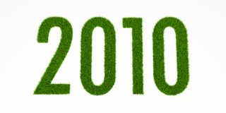 2010草 免版税库存图片