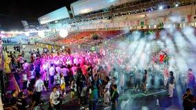2010 żywy miasta przyjęcia hulaków Zdjęcie Royalty Free