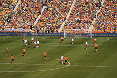 2010 Δανία FIFA Κάτω Χώρες εναντίον Στοκ εικόνα με δικαίωμα ελεύθερης χρήσης