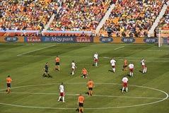 2010 Δανία FIFA Κάτω Χώρες εναντίον Στοκ Φωτογραφίες