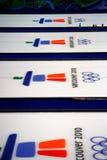 2010 завивать олимпийских стоковое изображение rf