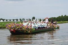 2010 плавая westland парада цветка Стоковая Фотография