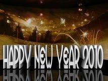 2010 счастливых Новый Год иллюстрации Стоковая Фотография
