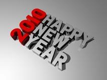 2010 счастливых Новый Год Стоковое Фото