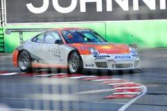 2010 участвовать в гонке Порше чашки carrera Азии Стоковые Фотографии RF