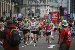 2010年伦敦马拉松 图库摄影