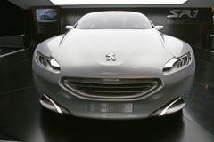 2010年汽车概念peugeot sr1 免版税库存图片