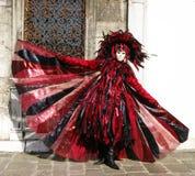 威尼斯狂欢节2010年 库存照片