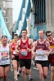 2010年伦敦马拉松 免版税图库摄影