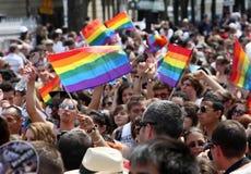 2010位同性恋者巴黎自豪感 免版税库存图片