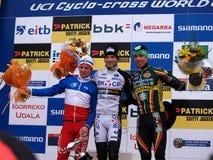 2010 2011杯子cyclocross来回世界 免版税库存图片