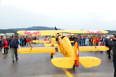 2010 24 Juli Emmen Airshow, Stock Afbeeldingen