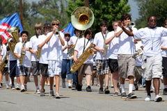 2010 4th ståtar den juli ojaien Arkivbilder