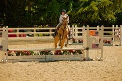 2010 6 de junio, demostración abierta del caballo, Portola Valley, CA Imagenes de archivo