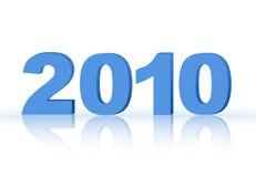 έτος του 2010 Στοκ Φωτογραφίες