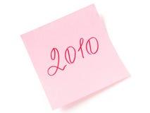 2010 años Fotos de archivo libres de regalías