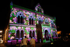 2010 Adelaide het Noordelijke Festival van Lichten Stock Afbeelding