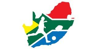 2010 Africa filiżanki piłki nożnej południe świat Obrazy Stock