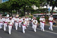 2010 aloha hawaianska bandfestivaler Arkivfoto