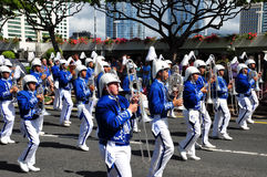 2010 aloha hawaianska bandfestivaler Royaltyfria Bilder