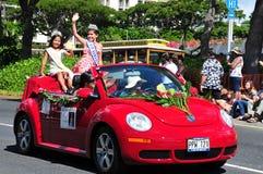 2010 aloha hawaianska minimiss för festivaler Arkivbilder