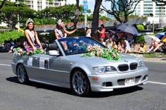 2010 aloha hawaianska miss för festivaler Royaltyfri Foto