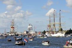 2010 Amsterdam żagiel Fotografia Stock