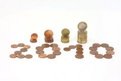 2010 anos Imagem de Stock Royalty Free