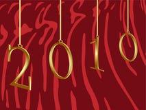 2010 anos do tigre Imagens de Stock