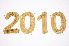 2010 ans Image libre de droits