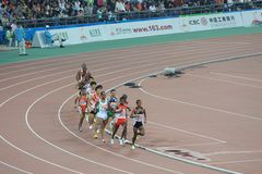 2010 Asian Games-long-distance race Royalty Free Stock Images