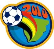 2010 balowych filiżanki piłki nożnej światów ilustracja wektor
