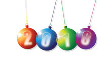 2010 Baubles Stock Photography