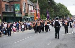 2010 Belfast marszu pomarańcze Zdjęcia Royalty Free