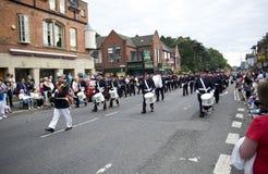 2010 Belfast marszu pomarańcze Obraz Royalty Free