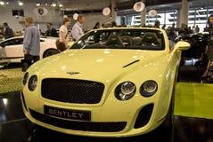 2010年bentley商品型号摩纳哥顶层 库存照片
