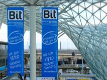 2010 BIT: De internationale Uitwisseling van het Toerisme Stock Foto