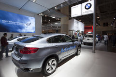 2010 BMW ActiveHybrid X6 at 2010 Autoshow Stock Photo