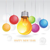 2010 business greeting card Stock Image