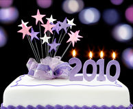 2010 Cake Royalty Free Stock Images