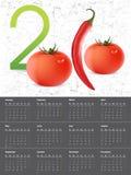 2010 Calendar. Vector illustration of 2010 Calendar, easy to edit Stock Photography