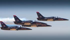 2010 California Capital Air Show. The Patriot Air Team performs at the 2010 California Capital Air Show in Sacramento, California Royalty Free Stock Photo