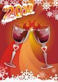2010 cheers Стоковое Изображение