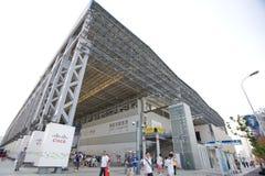2010年cisco商展亭子上海 库存图片